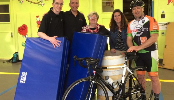 Merci à l'équipe Vélo Gare!