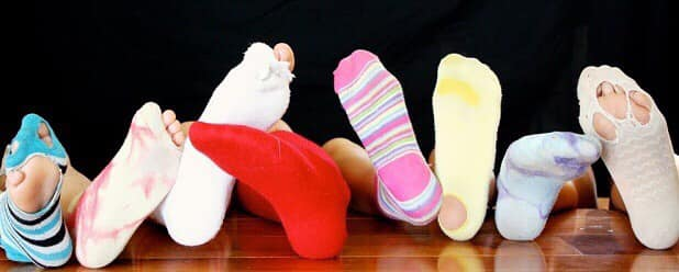 Collecte de chaussettes